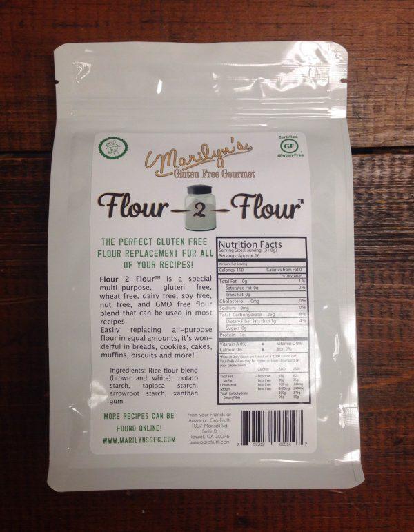 Marilyn's Flour 2 Flour