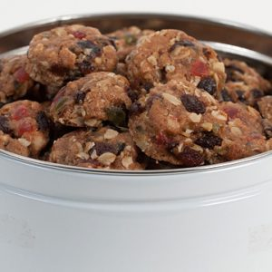 Fruit Cake Cookie in Gift Tin