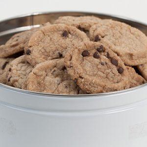 Chocolate Chip Cookie Tin