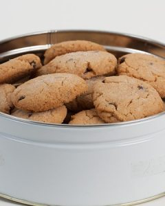 Peanut Butter Chocolate Chip Cookie Tin