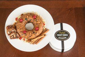 Fruit Cake and Tin