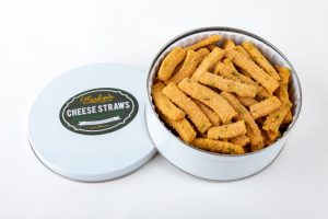 Marilyn's white cheddar tin photo